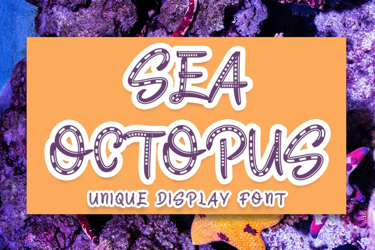 Sea octopus example image 1
