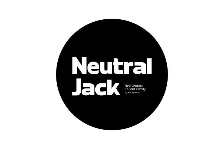 Neutral Jack - Modern Grotesk