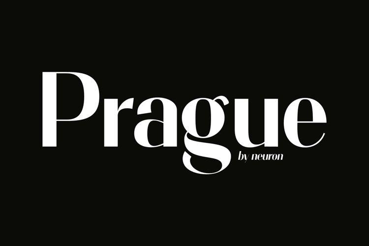 Prague Elegant Modern Display Font example image 1