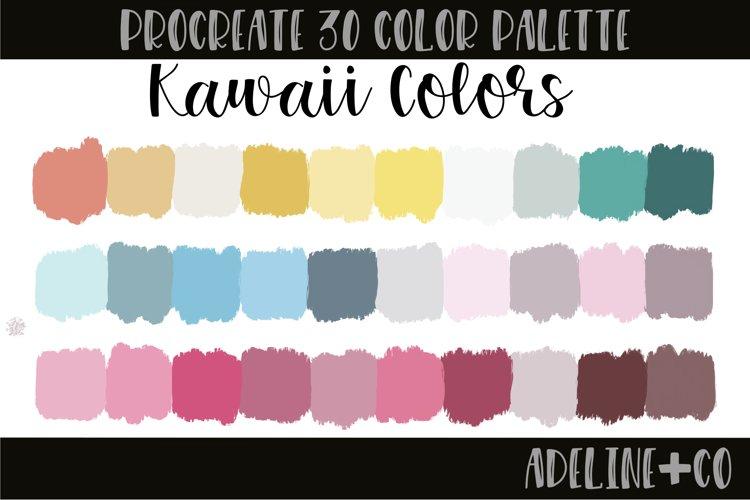 Kawaii Colors Procreate color palette