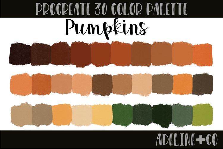 Pumpkins Procreate Color Palette example image 1