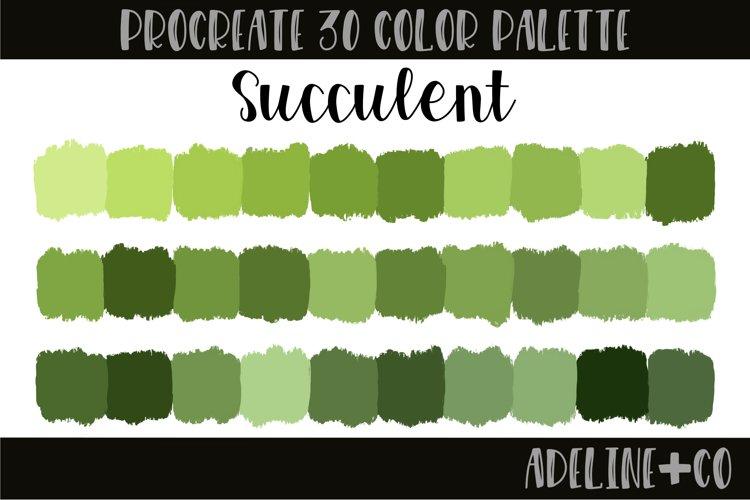 Succulent Procreate Color Palette example image 1