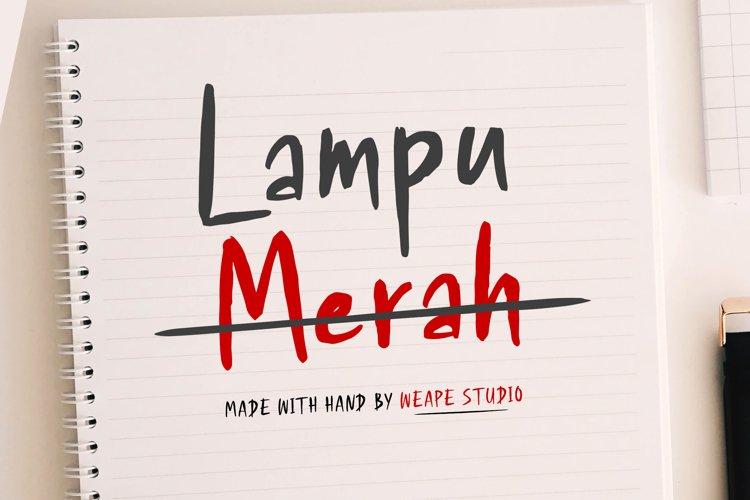 Lampu Merah example image 1