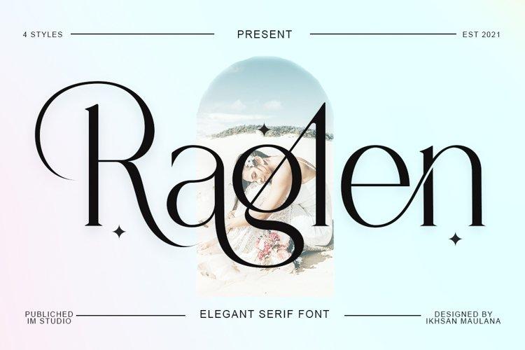 Raglen Serif example image 1