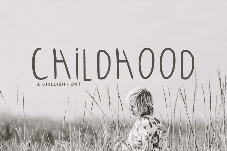Childhood Font example image 1
