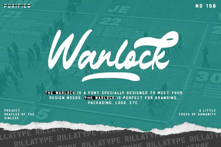 The Warlock - Bold Script example image 1