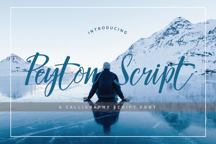 Peyton Script Typeface