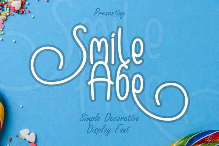 Smile Abe example image 1
