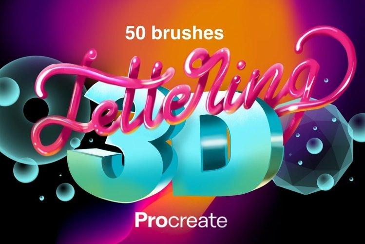 Procreate 3D Lettering Bundle