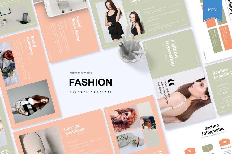 Fashion Generation | Keynote Template example image 1