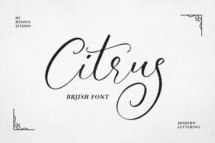 Citrus Script