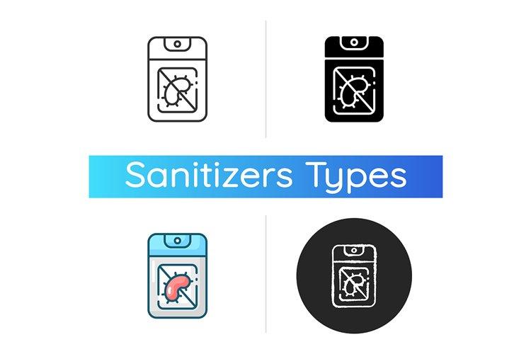 Pocket hand sanitizer icon example image 1