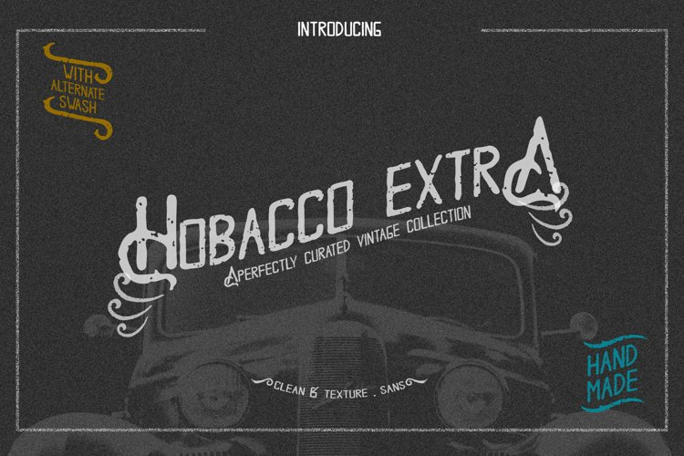 Hobacco Extra Vintage Type example image 1