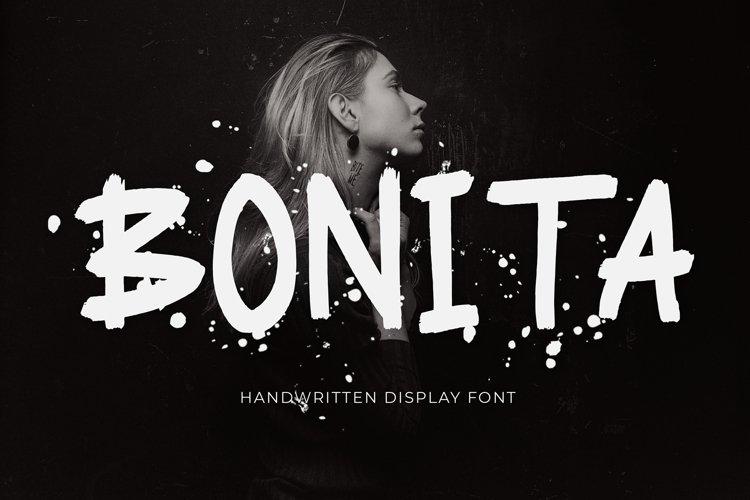 Bonita Handwritten Display Font