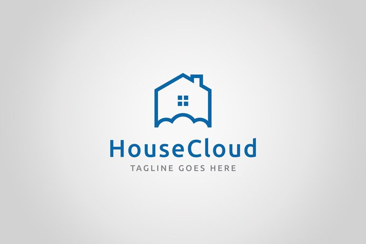 House Cloud Logo example image 1