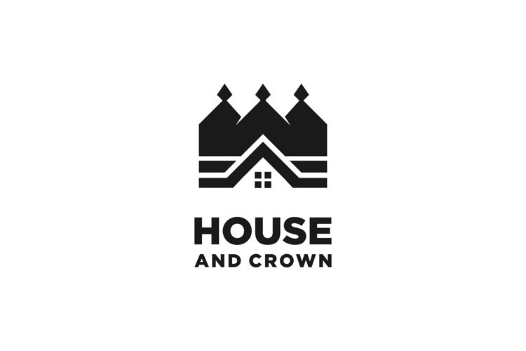 House with Crown logo example image 1