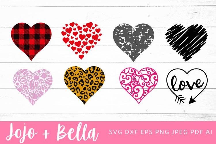 Heart Svg Bundle   Heart Svg example image 1