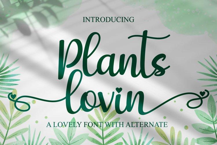 Plants lovin example image 1