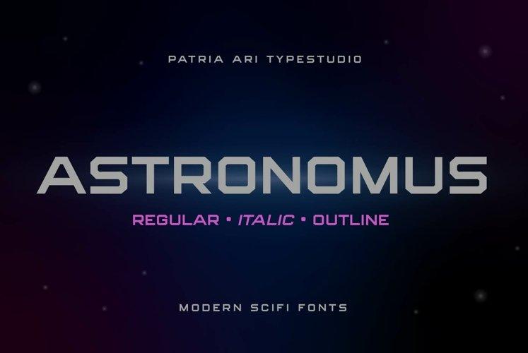 Astronomus