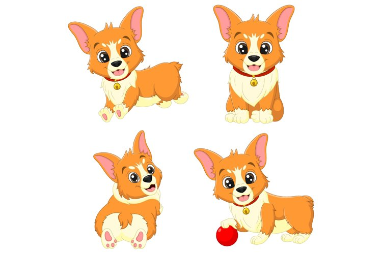 Cute Baby Dogs Cartoon Collection