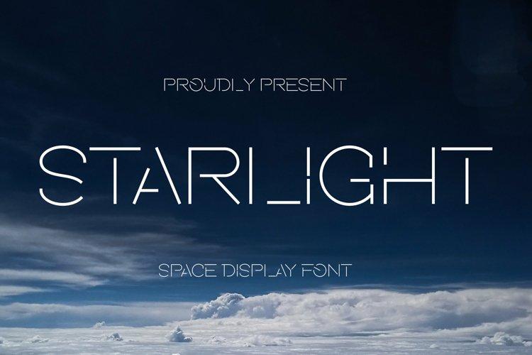 Starlight Font example image 1