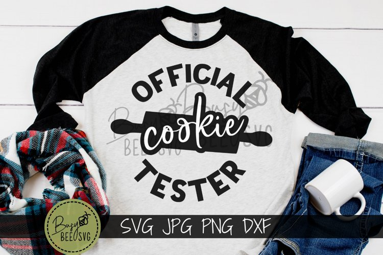 Official Cookie Tester Cut File SVG PNG DXF