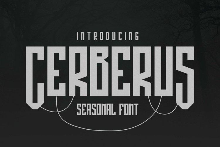 Web Font Cerberus Font example image 1
