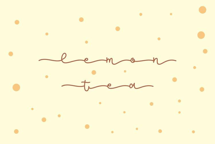 Lemon Tea example image 1
