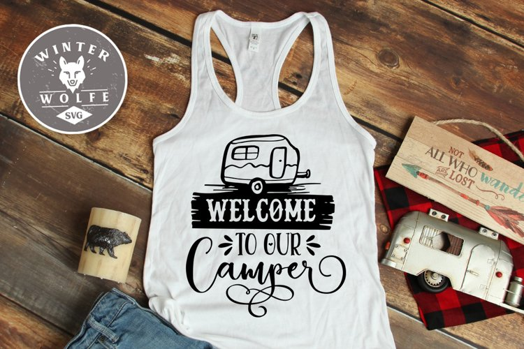 Welcome to our camper SVG EPS DXF PNG