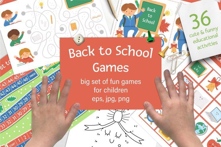 Download Back To School Games 772459 Educational Design Bundles