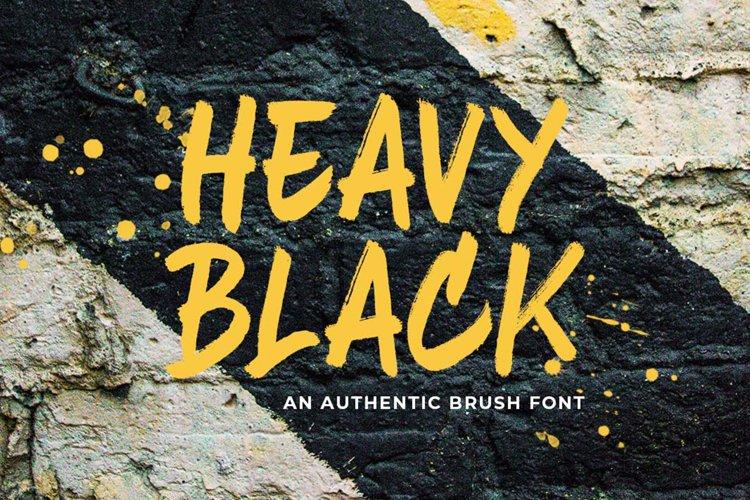 Heavy Black example image 1