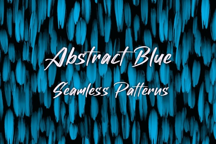 12 Blue Abstract Seamless Patterns Textures Background