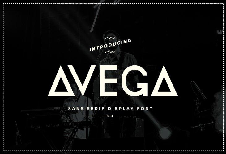 Avega Font example image 1