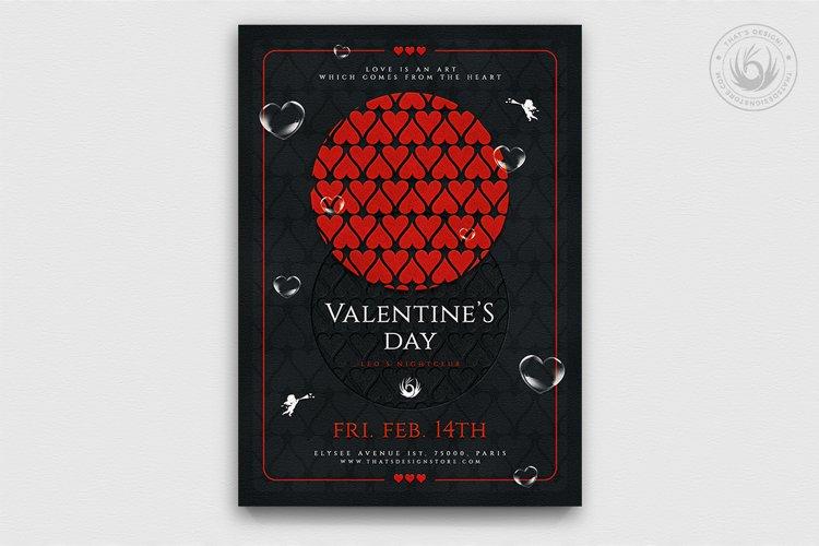 Valentines Day Flyer Template V22
