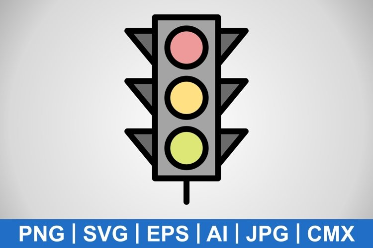 Vector Light signals Icon example image 1