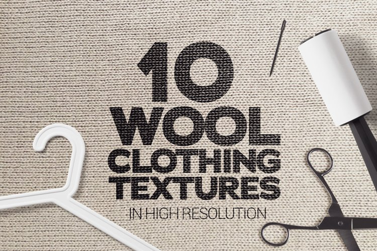 Wool Clothing Textures x10