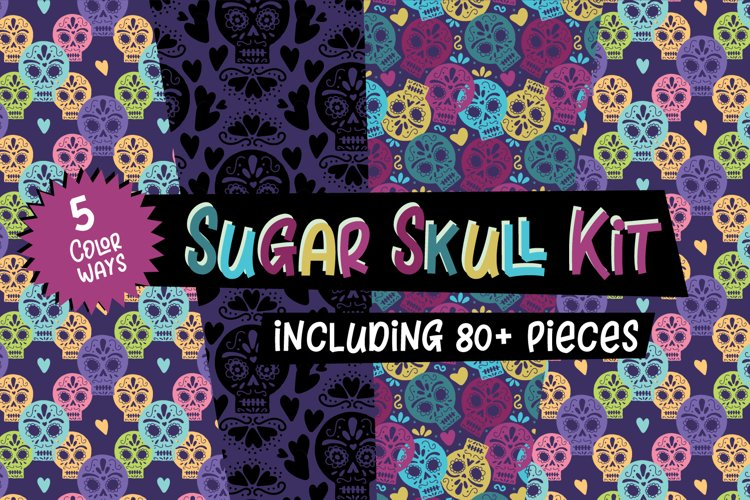 Day of the Dead Sugar Skulls example image 1