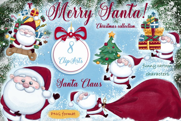 Merry Santa! Christmas collection. example image 1