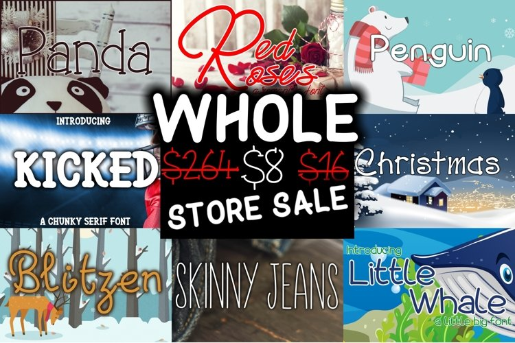 The Hella Cool Font Bundle - UPDATED