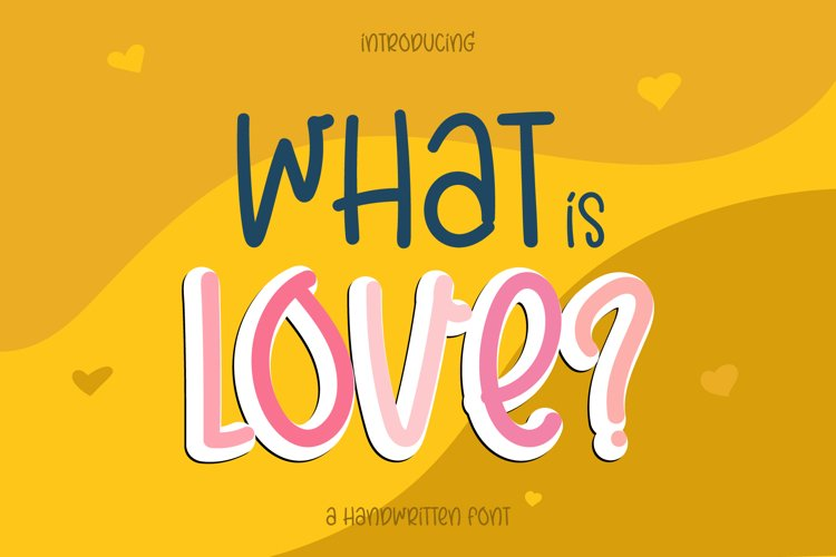 What is Love? example image 1