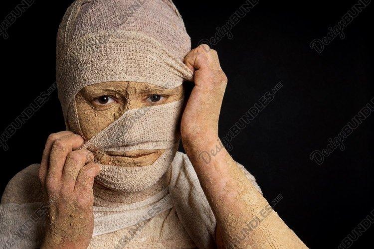 egyptian mummy halloween costume