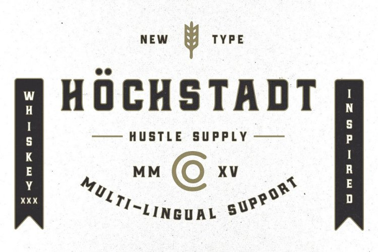 Höchstadt Font example image 1
