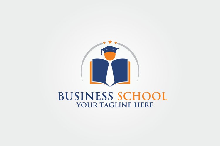 Business School Logo Template example image 1
