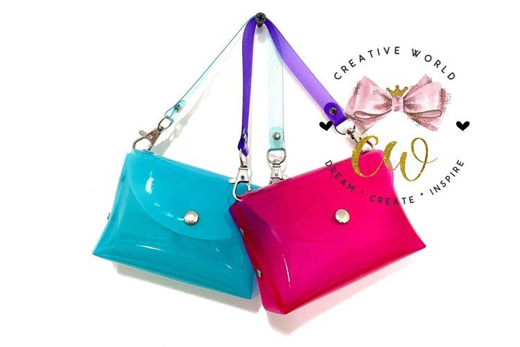3D Mini Handbag Digital Template | Mini Handbag PDF | CW022