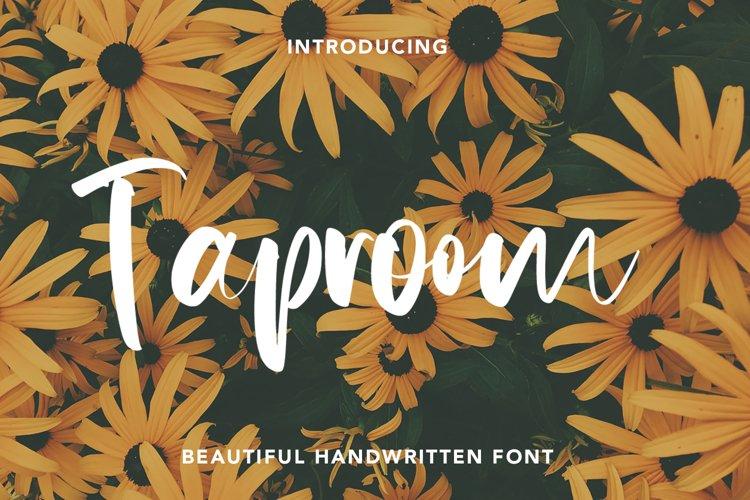 Taproom - Handwritten Font