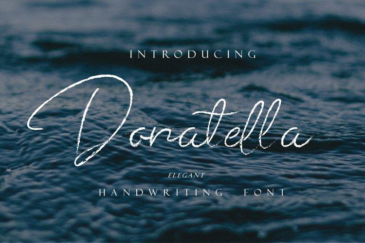 Donatella - Handwritten Font