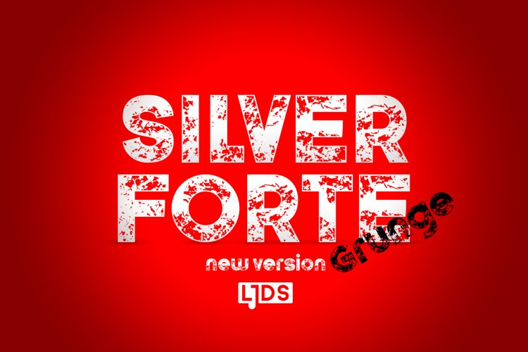 Silver forte Grunge example image 1