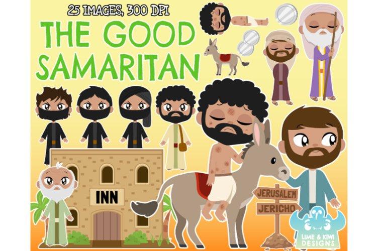 The Good Samaritan - Lime and Kiwi Designs