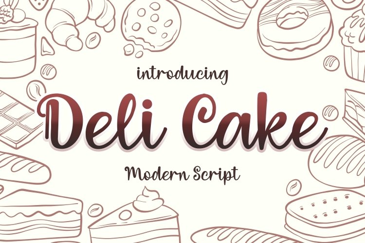 Deli Cake example image 1