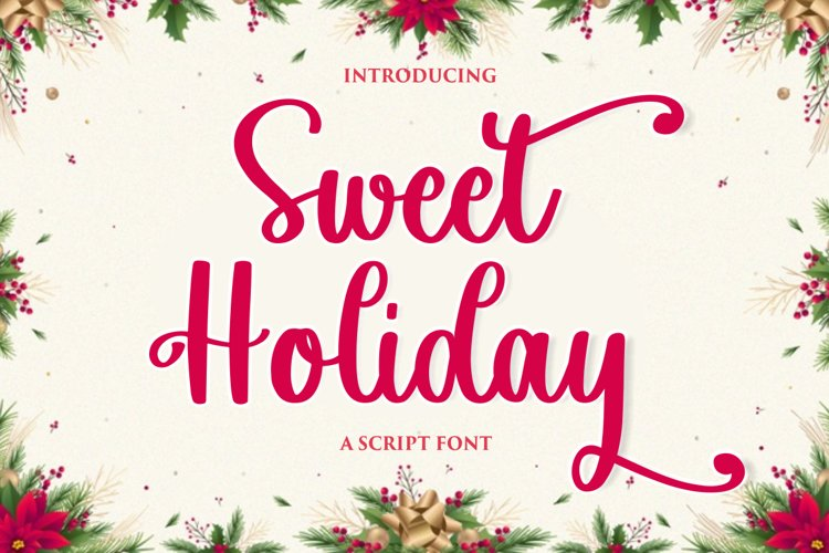 Sweet Holiday example image 1
